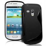 Θήκη Σιλικόνης S-Line Black για Samsung Galaxy S3 mini i8190