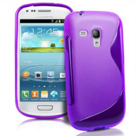 Θήκη Σιλικόνης S-Line Purple για Samsung Galaxy S3 mini i8190