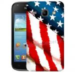 Silicone Case With USA Flag for Samsung Galaxy Core i8260-i8262