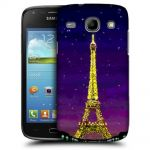 Silicone Case With Paris by Night for Samsung Galaxy Core i8260-i8262