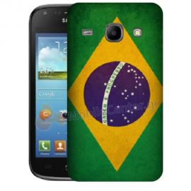 Silicone Case With Brazilian Flag for Samsung Galaxy Core i8260-i8262