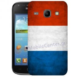 Silicone Case With French Flag for Samsung Galaxy Core i8260-i8262
