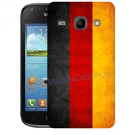 Silicone Case With German Flag for Samsung Galaxy Core i8260-i8262