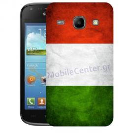 Silicone Case With Italian Flag for Samsung Galaxy Core i8260-i8262