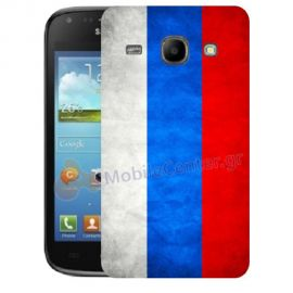 Silicone Case With Russian Flag for Samsung Galaxy Core i8260-i8262