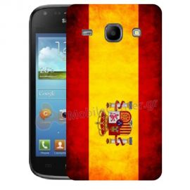 Silicone Case With Spain Flag for Samsung Galaxy Core i8260-i8262