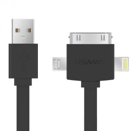 USAMS Data Transmit and Charging Cable (3 in1 USB)