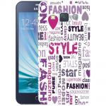 Silicone Case Fashion World for Samsung Galaxy A3