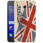 Silicone Case London for Samsung Galaxy Core 2