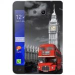 Silicone Case United Kingdom Big Ben for Samsung Galaxy Core 2