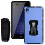 Armor-X Rugged Case with Belt Clip TX-SN-Z3 Blue for Sony Xperia Z3
