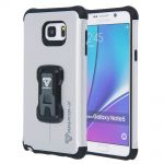 Armor-X Rugged Case with Belt Clip CX-N5 Silver for Samsung Galaxy Note 5