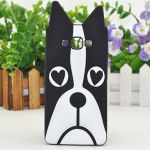 3D Silicone Case Bulldog for Samsung Galaxy J5 (2016) SM-J510