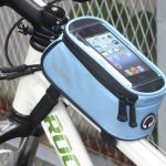Roswheel Bicycle Phone Bag Blue 5.5""