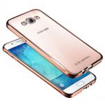 Silicone Case Electro Series Clear-Pink for Samsung Galaxy J3 (2016) SM-J320