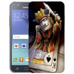 Silicone Case Poker King for Samsung Galaxy J5 (2016) SM-J510